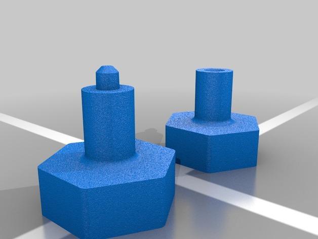 迷你哑铃模型 3D模型  图2