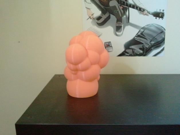 迷你彩色灯罩blop 3D模型  图3