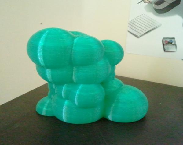 迷你彩色灯罩blop 3D模型  图5