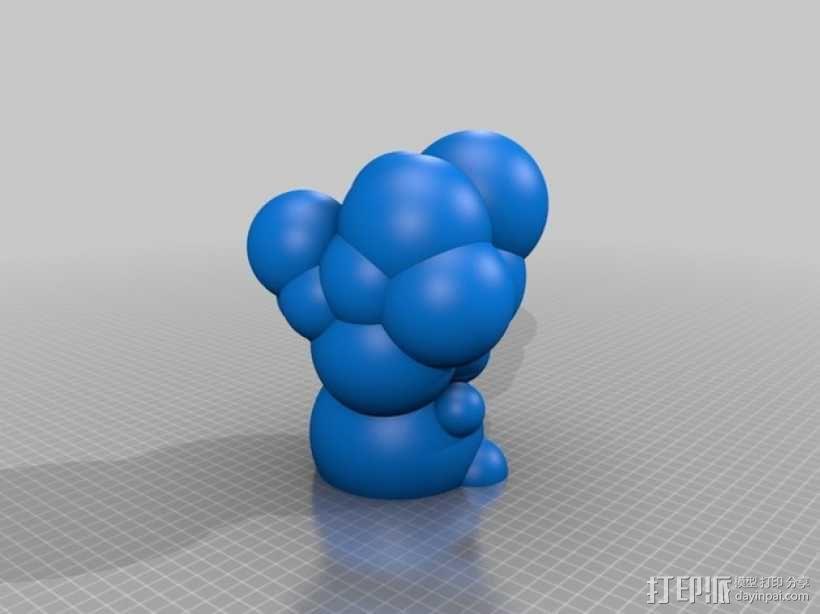 迷你彩色灯罩blop 3D模型  图8