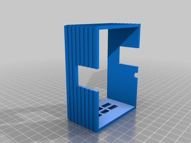 迷你树屋模型 3D模型  图4