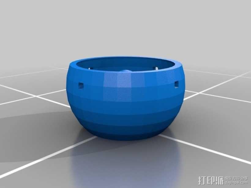 手动控制眼球怪 3D模型  图9