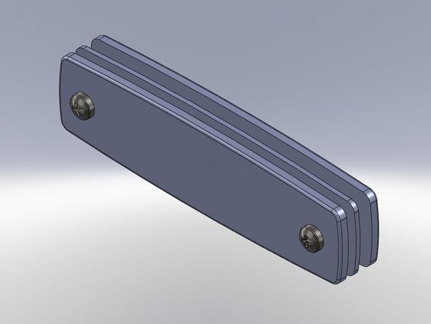 瑞士军刀钥匙扣模型 3D模型  图1