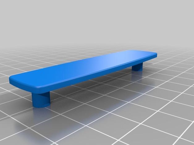 瑞士军刀钥匙扣模型 3D模型  图2