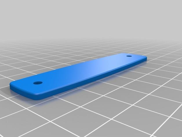 瑞士军刀钥匙扣模型 3D模型  图4