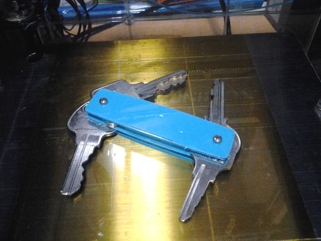 瑞士军刀钥匙扣模型 3D模型  图6