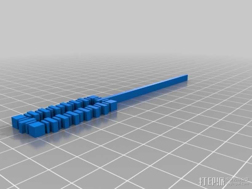 迷你吹泡泡小工具 3D模型  图6