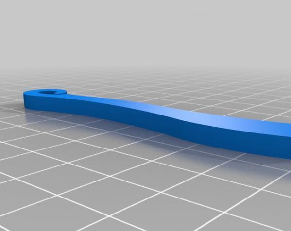 滑翔机形飞镖模型 3D模型  图2