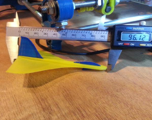 滑翔机形飞镖模型 3D模型  图5