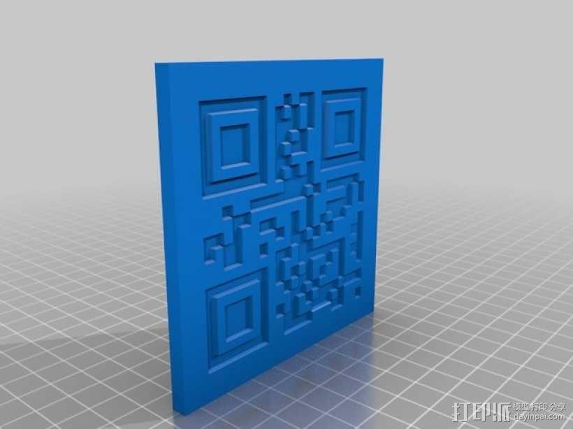 二维码骰子模型 3D模型  图5