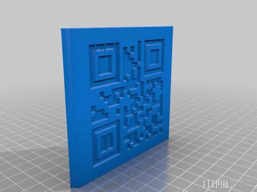 二维码骰子模型 3D模型  图8