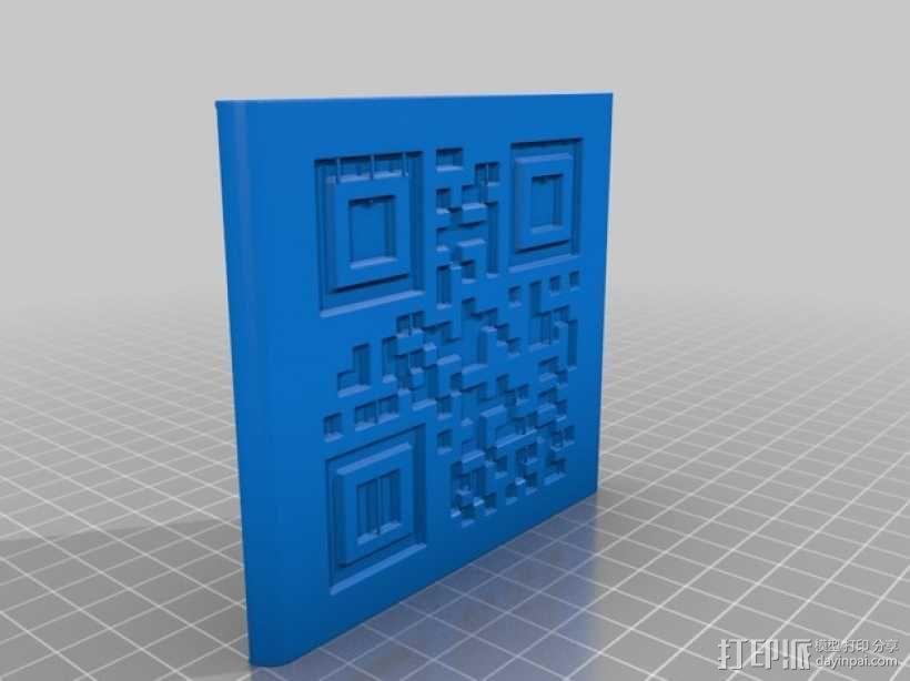 二维码骰子模型 3D模型  图9