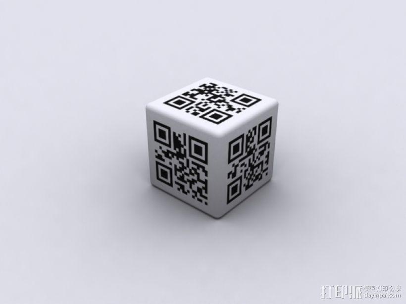二维码骰子模型 3D模型  图11