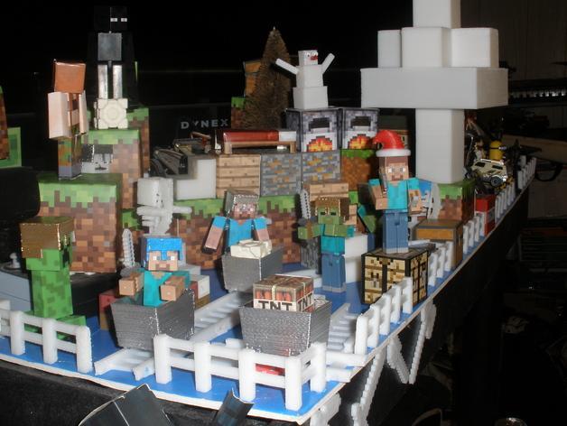 Minecraft树木模型 3D模型  图3