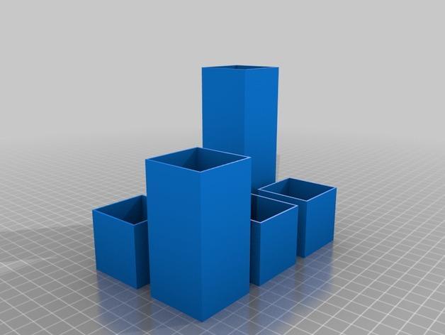 Minecraft树木模型 3D模型  图5
