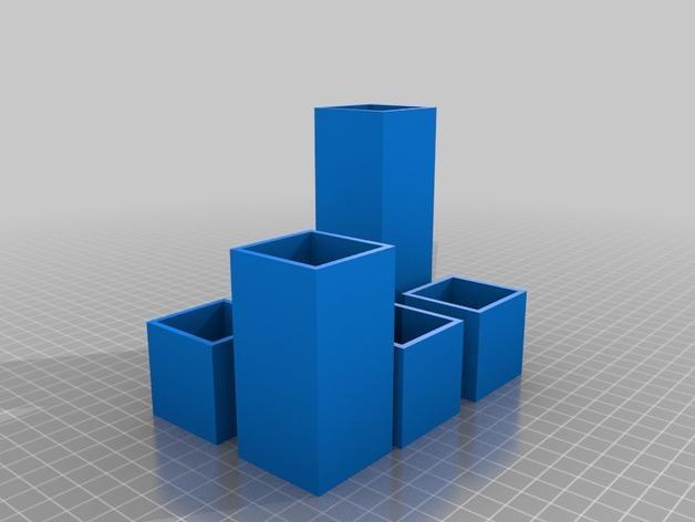 Minecraft树木模型 3D模型  图9