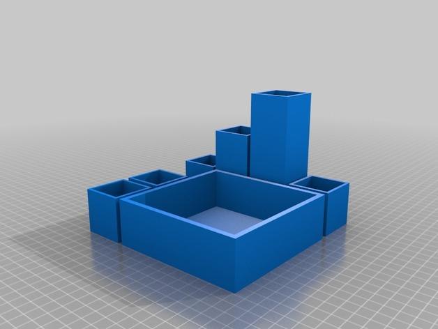 Minecraft树木模型 3D模型  图8