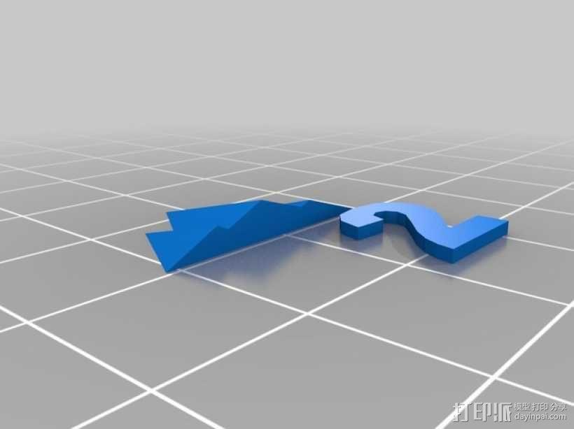 卡坦岛游戏瓦片模型 3D模型  图3