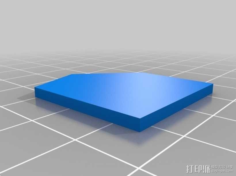 卡坦岛游戏瓦片模型 3D模型  图5