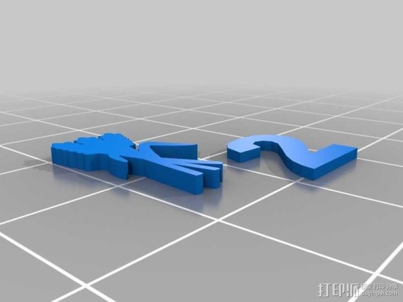 卡坦岛游戏瓦片模型 3D模型  图4