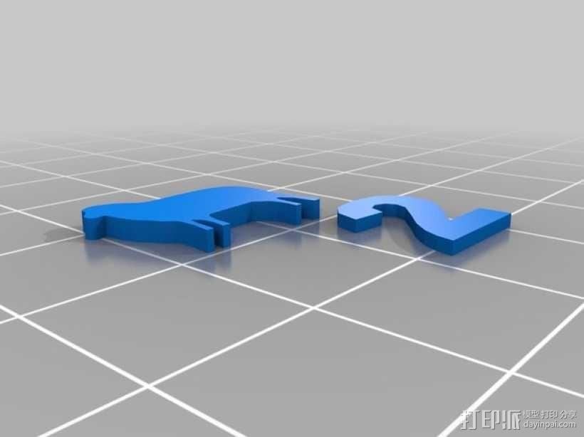 卡坦岛游戏瓦片模型 3D模型  图12