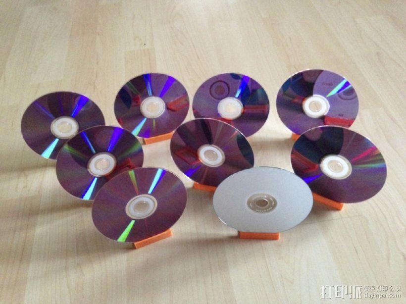 迷你磁盘支架模型 3D模型  图1