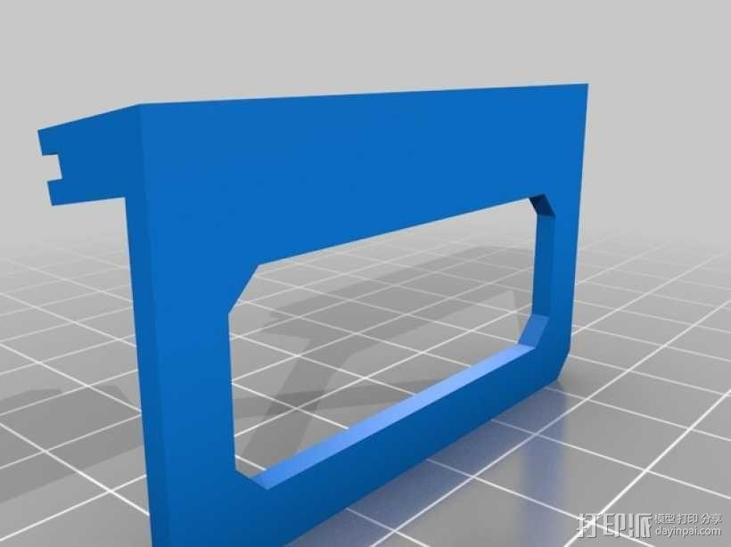 迷你磁盘支架模型 3D模型  图3