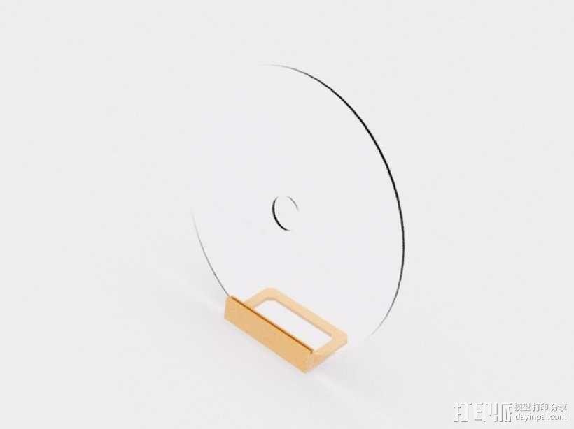 迷你磁盘支架模型 3D模型  图2
