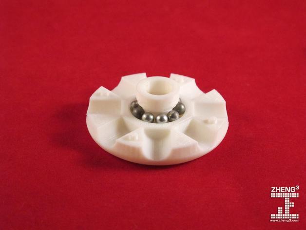 Tinkeriffic滚珠承轴模型 3D模型  图3