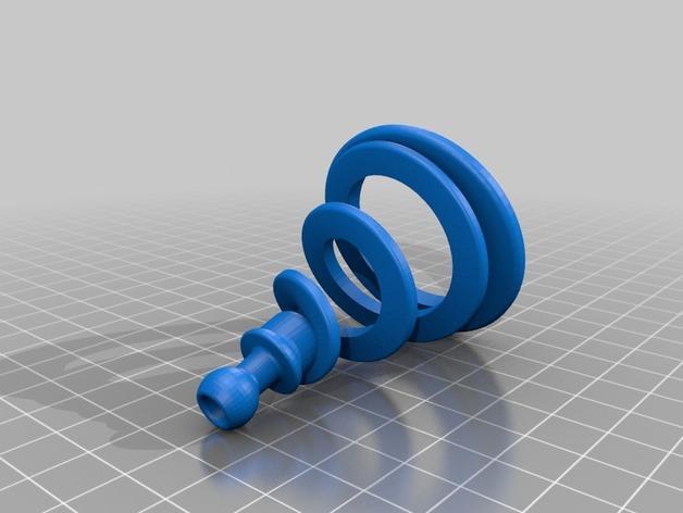 Ogo弹簧模型 3D模型  图2