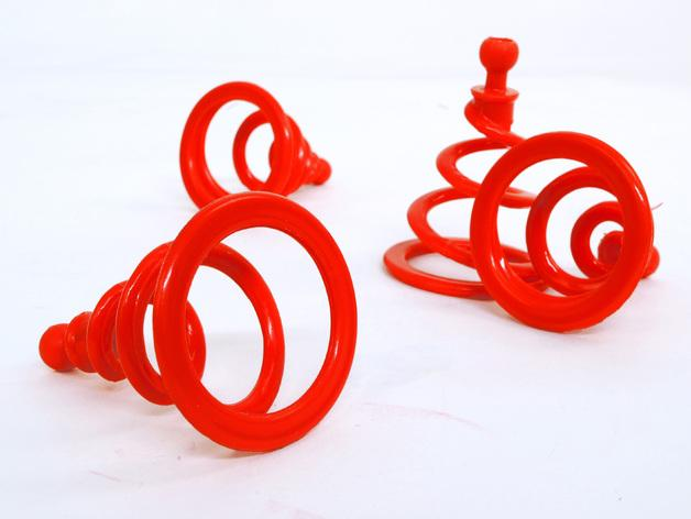 Ogo弹簧模型 3D模型  图4