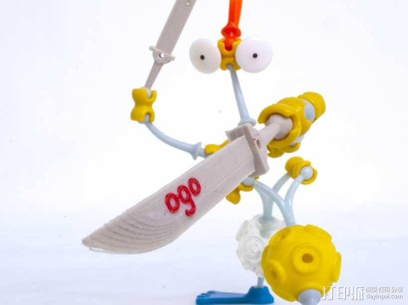 Ogo刀剑模型 3D模型  图1