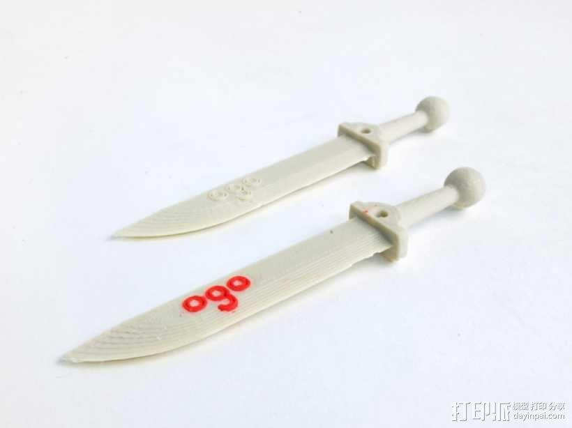 Ogo刀剑模型 3D模型  图3