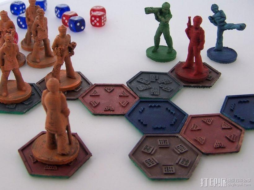 黑色炸药:柔道竞技场 3D模型  图2