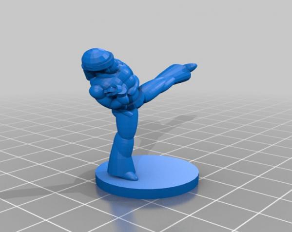 黑色炸药:柔道竞技场 3D模型  图14