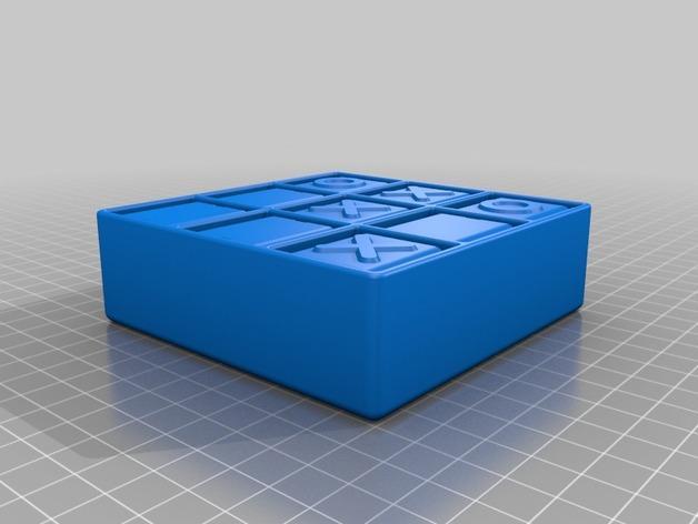 迷你井子棋模型 3D模型  图1