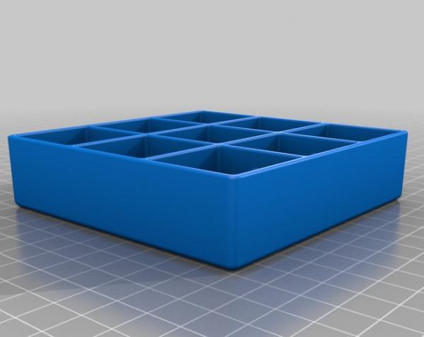 迷你井子棋模型 3D模型  图4