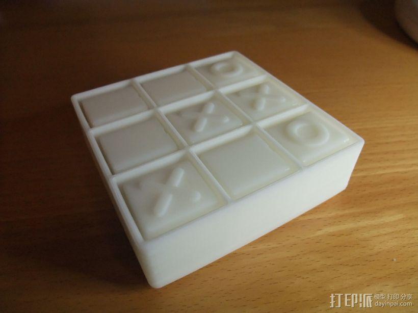 迷你井子棋模型 3D模型  图3