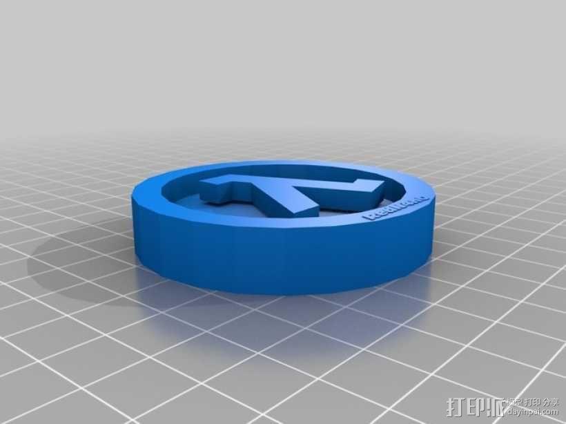 第十一个希腊字母Lambda模型 3D模型  图2