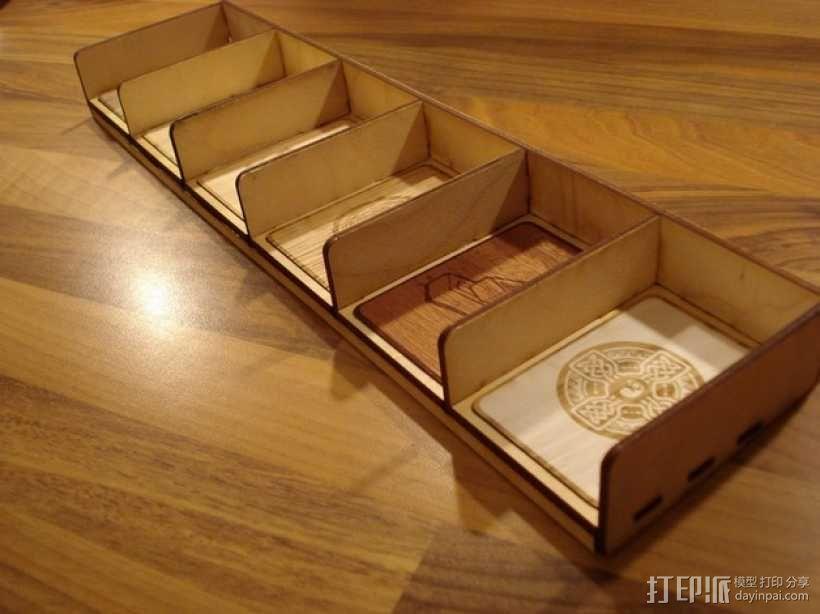 卡坦岛多格游戏卡盒模型 3D模型  图4