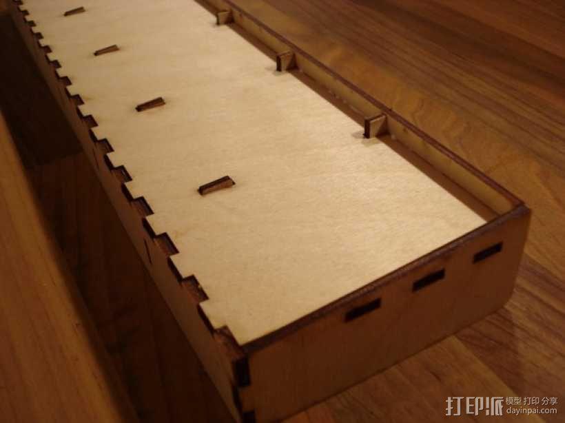 卡坦岛多格游戏卡盒模型 3D模型  图5