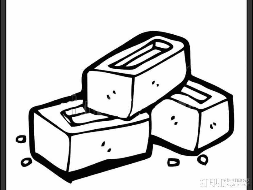 卡坦岛多格游戏卡盒模型 3D模型  图10