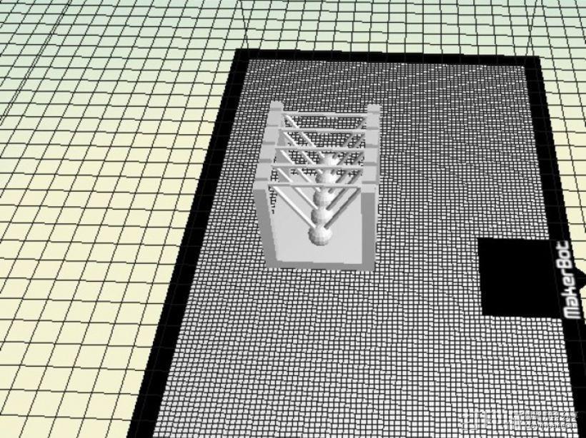 迷你牛顿摆模型 3D模型  图5