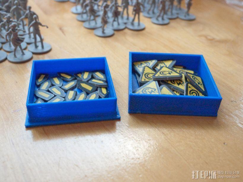 丧尸围城:游戏道具盒 3D模型  图1