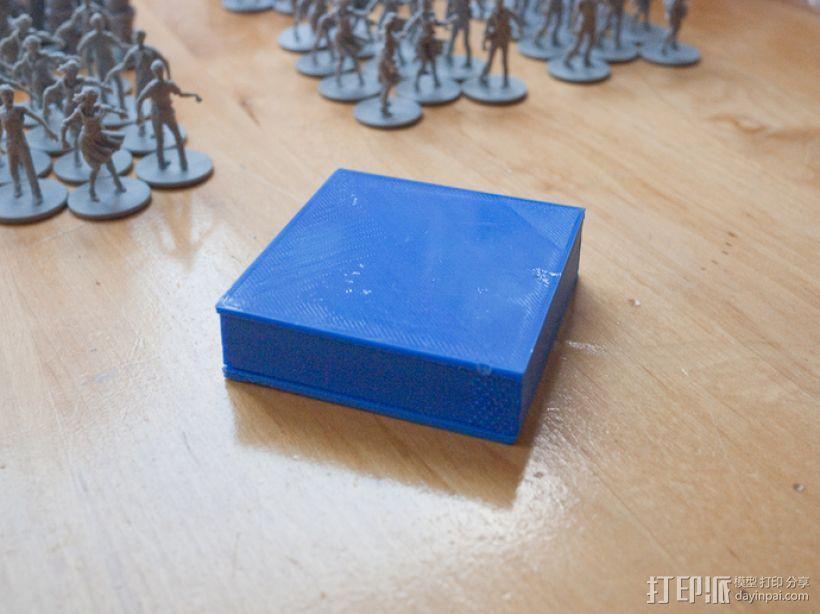丧尸围城:游戏道具盒 3D模型  图2