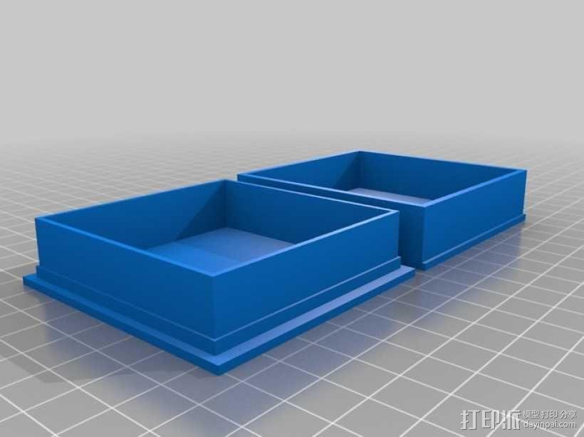 丧尸围城:游戏道具盒 3D模型  图3