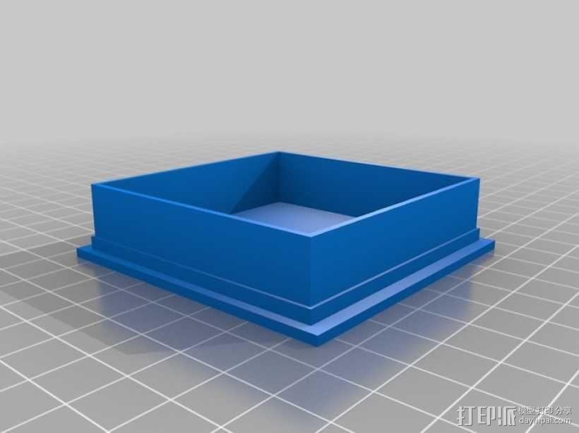 丧尸围城:游戏道具盒 3D模型  图4