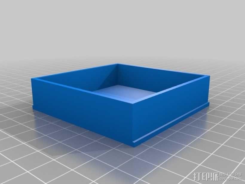 丧尸围城:游戏道具盒 3D模型  图5