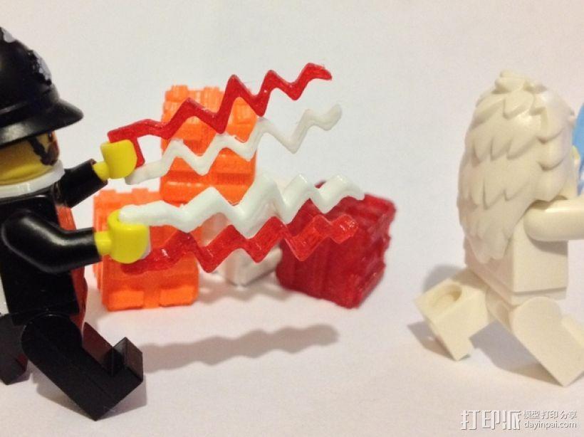 乐高闪电之刃模型 3D模型  图1