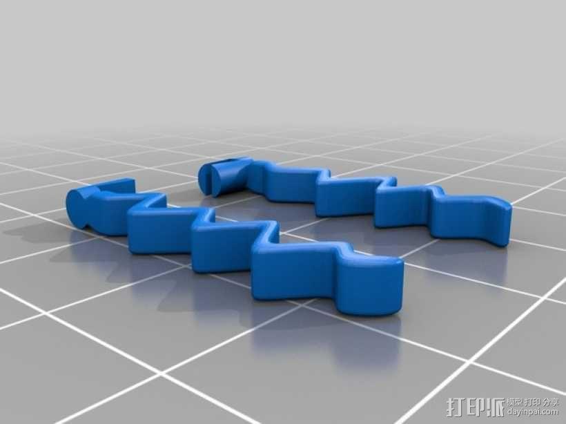 乐高闪电之刃模型 3D模型  图3